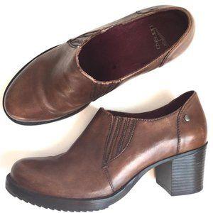 Dansko Brown heeled Clog size 40 EUC / 9.5 — 10